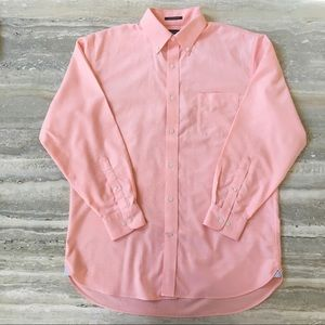 Lands End Supima No Iron Twill Traditional Shirt